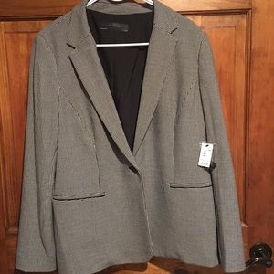 NWT XXL The Limited Houndstooth Suit Jacket
